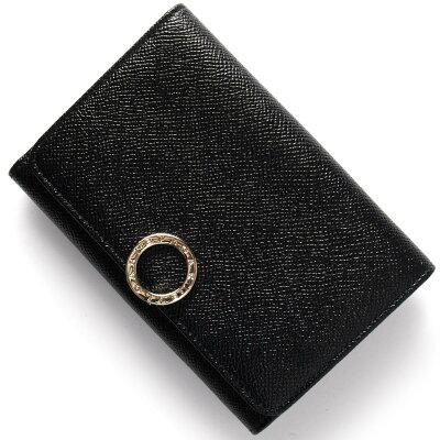 ブルガリ 二つ折り財布 財布 レディース ブルガリブルガリ BB ブラック 280555 BVLGARI