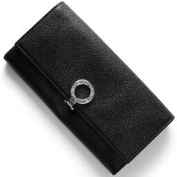 ブルガリ 財布(レディース) ブルガリ 長財布 財布 メンズ レディース ブルガリブルガリ ブラック 30414 BVLGARI