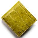 フェリージ 二つ折り財布 メンズ フェリージ 二つ折り財布 財布 メンズ クロコ型押し カードケースセット ヴェルデグリーン 452 SA 0008 FELISI