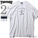 スラッシャー 【大きいサイズ】【メンズ】THRASHER(スラッシャー) 半袖デザインTシャツ【USA直輸入】311009
