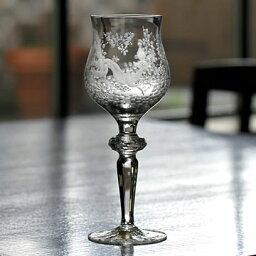 マイセン マイセンクリスタル 真夏の夜の夢 レッドワイングラス#msc007162