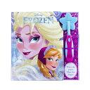 マジックワンド ソルト Magic Wand Book Disney Frozen with Foil MAGIC WAND BK DISNEY FROZEN W/ [ Pi Kids ]