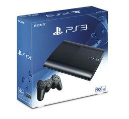 PS3 PlayStation 3 チャコール・ブラック 500GB