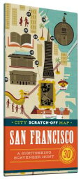 scratch map  City Scratch-Off Map: San Francisco: A Sightseeing Scavenger Hunt CITY SCRATCH-OFF MAP SAN FRANC [ Christina Henry De Tessan ]