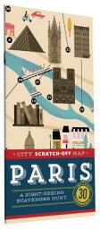 scratch map  CITY SCRATCH - OFF MAP:PARIS [ . ]