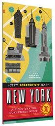 scratch map  City Scratch-Off Map: New York: A Sight-Seeing Scavenger Hunt CITY SCRATCH-OFF MAP NEW YORK [ Christina Henry de Tessan ]