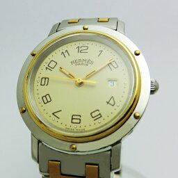 エルメス クリッパー 腕時計(メンズ) HERMESエルメス クリッパー メンズ 美品 2000年代 ヤングビンテージ クオーツ USED