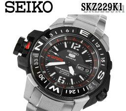 ファイブスポーツ 送料無料 楽天最安値 セイコー 5 SEIKO FIVE SPORTS スポーツ メンズ 腕時計 自動巻 200m防水マップメーター 日本製 skz229k1 逆輸入 おすすめ 人気 モデル