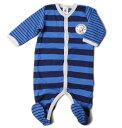 プチバトー ベビー服 プチバトー アンダーウェア ロンパース PETIT BATEAU ベビー 男の子 ボーダー ブルー/ネイビー 出産祝い