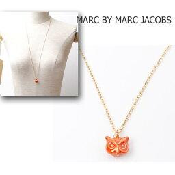 マークバイマークジェイコブス マークバイマークジェイコブス MARC BY MARC JACOBSロングネックレス アクセサリー ゴールド/OWL ふくろう M502126