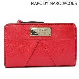 マークジェイコブス 財布(レディース) マークバイマークジェイコブス 折財布 MARC BY MARC JACOBS マーカイブ ローレン RASPBERRIES/ラズベリー M0002915 ファスナー式