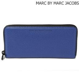 マークジェイコブス 長財布(メンズ) マークバイマークジェイコブス 長財布 MARC BY MARC JACOBS メンズ スリムジップ MINERAL BLUE/ブルー M0003198