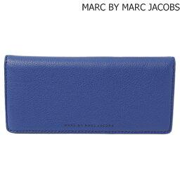 マークジェイコブス 長財布(メンズ) マークバイマークジェイコブス 財布 MARC BY MARC JACOBS メンズライン 長財布 レザー MINERAL BLUE/ブルー M0001007A