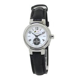 ルイヴィトン 腕時計(レディース) ルイ・ヴィトン タンブール ラブリーカップ PM レディース 腕時計 Q12M0 12P 新品替えベルト付 【美品】