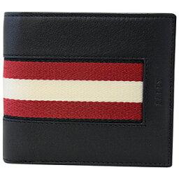 バリー 二つ折り財布 メンズ BALLY バリー 財布 6232190 BLACK BRAASAI HP/100 二つ折り財布 両面カード【あす楽対応_関東】