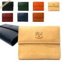 イルビゾンテ 二つ折り財布 メンズ イルビゾンテ IL BISONTE 財布 メンズ 二つ折り財布 本革 レザー [ブラック/キャメル/ヌメ/オレンジ/レッド/ネイビー/グリーン]各色 C0618 | コンビニ受取 ブランド