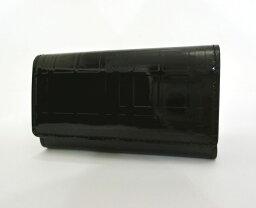 バーバリー キーケース BURBERRY・バーバリー エナメルレザー 5連キーケース ブラック 黒 チェック柄 おしゃれ レディース小物・メンズ小物 ブランド 未使用品 送料無料 20-9001