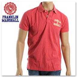 フランクリンマーシャル FRANKLIN&MARSHALL【フランクリンマーシャル】メンズポロシャツ/ダークピンク/POMR701QPSS12