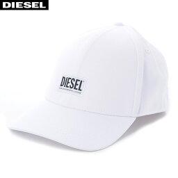 ディーゼル ディーゼル DIESEL ベースボールキャップ 帽子 メンズ CORRY 00SYQ9-0BAUI ホワイト