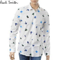 ポールスミス ポールスミス PAUL SMITH カジュアルシャツ メンズ PUXD 433R 657 ホワイト
