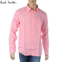 ポールスミス ポールスミス PAUL SMITH カジュアルシャツ 長袖 メンズ M2R 614P B20289 ピンク