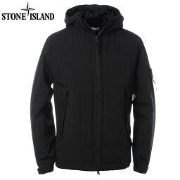 ストーンアイランド ストーンアイランド STONE ISLAND ブルゾン メンズ アウター ナイロン ジャケット ブランド 41627 SOFT SHELL-R WITH PRIMALOFT INSULATION ブラック