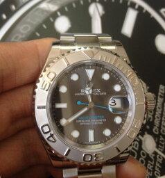 ヨットマスター 【全新】ROLEX/ロレックス ヨットマスターシリーズ116622 40オイスタースチール&プラチナ メンズ 腕時計 #HKRX05