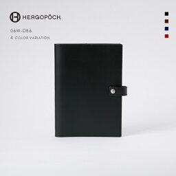 AXE 【HERGOPOCH|エルゴポック】Waxed Leather ワキシングレザー 牛革 Goods ダイアリーカバー 手帳ケース 06W-DB6 [送料無料]