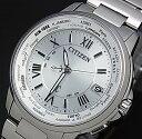 シチズン クロス シー(XC) 腕時計(メンズ) CITIZEN/XC【シチズン/クロスシー】HAPPY FLIGHT/ハッピーフライト メンズ 電波ソーラー腕時計 シルバー文字盤 メタルベルト MADE IN JAPAN(国内正規品CB1020-54A