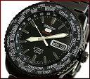 ファイブスポーツ SEIKO/SEIKO5 Sports【セイコー5スポーツ/ファイブスポーツ】自動巻 メンズ腕時計 MADE IN JAPAN ブラックメタルベルト ブラック文字盤 SRP129J1海外モデル