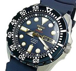 ファイブスポーツ SEIKO/SEIKO5 Sports【セイコー5スポーツ/ファイブスポーツ】自動巻 メンズ腕時計 ネイビーラバーベルト ネイビー文字盤 SRP605K2 海外モデル【並行輸入品】