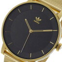 アディダス 腕時計(メンズ) アディダス ADIDAS 腕時計 メンズ Z04-1604 ブラック ゴールド