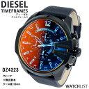 腕時計 ディーゼル(メンズ) 【送料無料】ディーゼル DIESEL クオーツ メンズ クロノ 腕時計 DZ4323