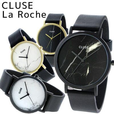 【替えベルトプレゼント】【3年保証】 CLUSE 腕時計 クルース 大理石 ラロッシュ 38mm レディース laroche CL40001 CL40002 CL40003 CL40004 クルーズ