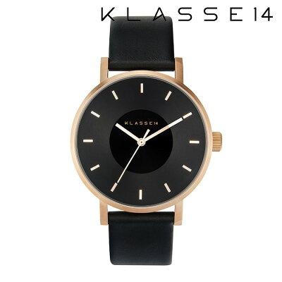 【2年保証】【正規取扱店】KLASSE14 クラス14 Volare Dark Rose VO16RG005M 42mm BLACK/BLACKklasse14 腕時計 ペアウォッチ レディース メンズ 人気 ブランド ● 送料無料● ラッピング無料