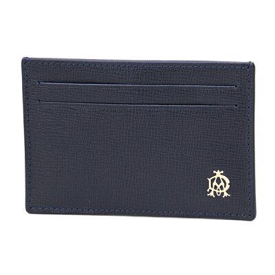 ダンヒル カードケース dunhill L2T740N ブランド小物 ベルグレーブ BELGRAVE SIMPLE CARD CASE メンズ NAVY(ネイビー) ネイビー 名刺入れ ベルグレイブ 【 送料無料】