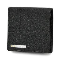 カルティエ カルティエ 2つ折り財布 CARTIER L3000772 財布 サントス メンズ ブラック 黒 【 カルチェ 送料無料 楽天】