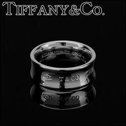 ティファニー 1837記念 指輪(レディース) ティファニー リング TIFFANY アクセサリー 1837 リング ring 7mm幅 レディース スターリング シルバー sterling silver ペアリングOK 指輪【 Tiffany&Co 送料無料】