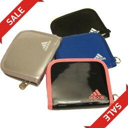 アディダス 【数量限定セール】adidas アディダス/エナメルウォレット Z7667 2つ折り サイズ(約W13×H10cm)【財布、パース、ワレット】