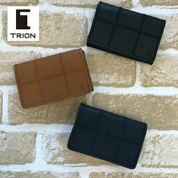 トライオン TRION トライオン 革 カードケース 名刺入れ メンズ レディース カジュアル BP804 誕生日 ギフト 父の日