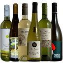 ワイン飲み比べセット 【世界の主要品種飲み比べ白6種】ワインが解る近道!これであなたもソムリエ気分!