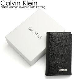 カルバンクライン キーケース(メンズ) 【マラソン限定!最大1000円クーポン】Calvin Klein カルバンクライン メンズ キーケース ブランド ブラック メンズ シンプル キーリング 79216