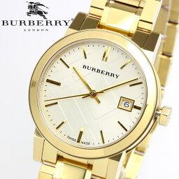 バーバリー 腕時計(レディース) 【送料無料】【BURBERRY】バーバリー 腕時計 レディース ゴールド メタル スイス製 The City シティ BU9103 人気 ブランド ウォッチ うでどけい 女性用 Lady's