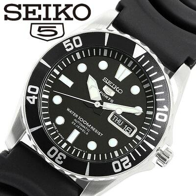 【送料無料】SEIKO セイコー 日本製 SEIKO 5 SPORTS 逆輸入 メンズ 腕時計 自動巻き カレンダー 日常生活防水 snzf17j2 MADE IN JAPAN