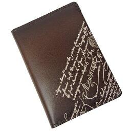 ベルルッティ ベルルッティ 名刺入れ メンズ Ideal Engraved 173392 ブラウン/アイボリー