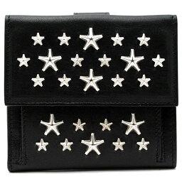 ジミーチュウ 二つ折り財布 レディース ジミーチュウ 財布 レディース JIMMY CHOO FRIDA CST ブラック