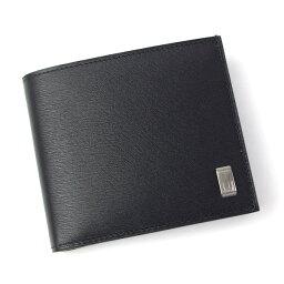 サイドカーガンメタル ダンヒル dunhill 財布 メンズ 小銭入れ付き 二つ折り財布 サイドカー ガンメタル ブラック L2RF32A
