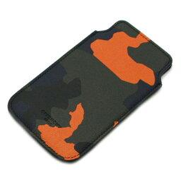 ジバンシィ スマホケース ジバンシー GIVENCHY iPhoneケース アイフォンケース MULTI PRINT カモフラージュ 14M 6090 802 960 カーキ+オレンジ