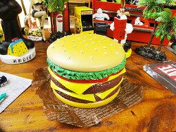 ハンバーガーの小物入れ ポップで賑やかなシーンが完成! ハンバーガーコンテナ ■ アメリカ雑貨 アメリカン雑貨 小物入れ 生活雑貨