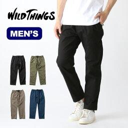 ワイルドシングス 【SALE】ワイルドシングス シングスパンツ WILD THINGS THINGS PANTS メンズ ボトムス パンツ ズボン ロングパンツ WT19029AD アウトドア <2020 春夏>